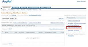 teks prosedur membuat rekening bank verifikasi paypal pakai rekening bank update cara ini sudah tidak