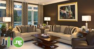 Sitting Room Painting Design In Nigeria