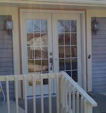 Patio French Doors With Blinds by Exterior Patio French Doors Lowes Exterior French Patio Doors With