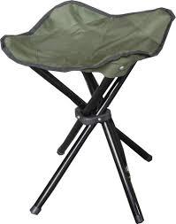 legged folding stools blue or green