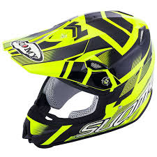suomy helmets motocross mr jump special yellow fluo black helmet helmets cross country