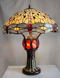 Tiffany Table Lamp Shades Wenbbdis Estate Tiffany Table Lamp Antique Bronze