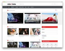 templates for video website stunning wordpress video themes for embedded and self hosted videos