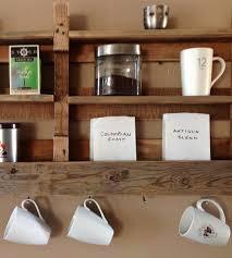 salvaged wood coffee u0026 tea shelf home decor u0026 lighting del