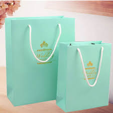 sale blue diy gift bags wedding favor bag ewfb005 as