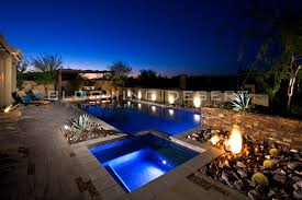 How Much To Landscape A Backyard by How Much Does It Cost To Build A Pool In Phoenix Blooming