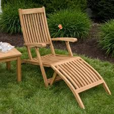 Teak Chaise Lounge Home Decor Amusing Teak Chaise Lounge With Lounge