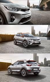 new kia stonic unveiled cars pinterest news