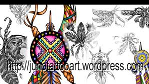 fashion ideas indian feather tattoo design