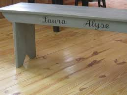 wood plank artwork handmade barn wood bench with custom artwork by ecustomfinishes