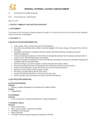Popular Sample Cover Letter Promotion Gallery Of Sample Cover Letter For Internal Job Opening Sample
