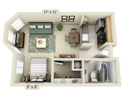 single bedroom house plans 650 square feet