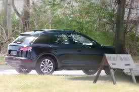 spyshots 2017 audi q5 spied almost completely undisguised