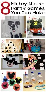 Homemade Games For Adults by 70 Mickey Mouse Diy Birthday Party Ideas U2013 About Family Crafts
