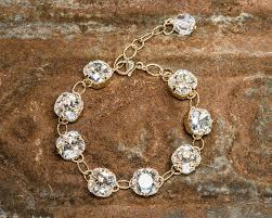 crystal link bracelet images Life bejeweled gold link bracelet w moonlight swarovski crystals jpg