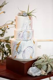 geometric abstracts wedding ideas ruffled