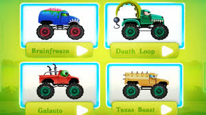 monster trucks video games monster trucks race beast car valley video games for kids
