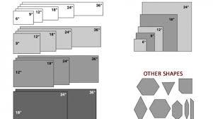 bathroom wall tile sizes home design
