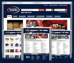 corvette america parts corvette america launches a and improved website corvette