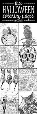 coloring pages printable for free free halloween adult coloring pages u create