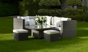 bramblecrest garden furniture rio modular sofa with mini