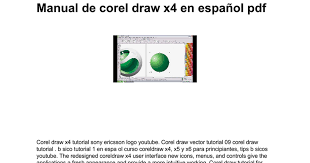 tutorial membuat logo coreldraw x5 manual de corel draw x4 en español pdf google docs