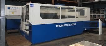 machine for sale trumpf tcl 3030 2 6 kw laser resale limited