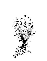 black and white tree tattoos free clip free clip