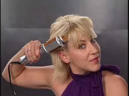 best curling iron for short fine hair instyler rotating iron volume style on short hair youtube