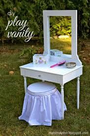 Wooden Girls Vanity Best 25 Little Girls Vanity Diy Ideas On Pinterest Teen Vanity
