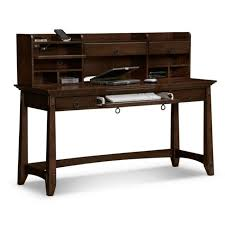 Narrow Reception Desk Narrow Wood Computer Desk For Small Space Features Pull Out