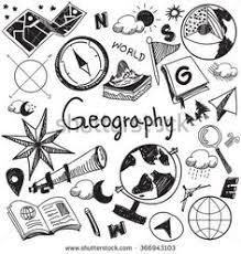 travel theme doodle vector set grunge background let me