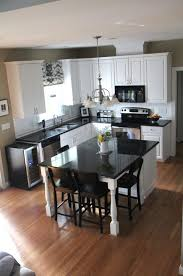 Functional Kitchen Seating Small Kitchen Best 25 Small Kitchen With Island Ideas On Pinterest Small