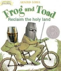 Meme Land - frog and toad reclaim the holy land meme xyz