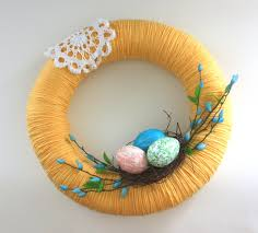 easter wreath 40 diy easter wreaths