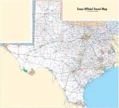 Alaska Road Map by Large Detailed Map Of Texas With Cities And Towns