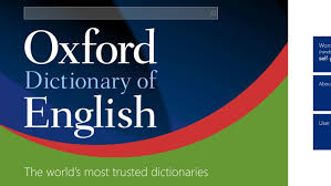 Oxford Dictionary Oxford Dictionary Of
