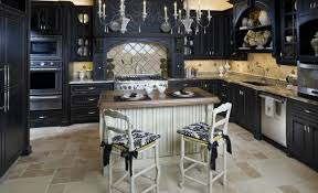 distressed black kitchen island amusant distressed black kitchen cabinets minimalist travertine