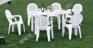 Plastic Outdoor Furniture by Eucalyptus Patio Set Outdoor Furniture Wood Dining Set Plastic