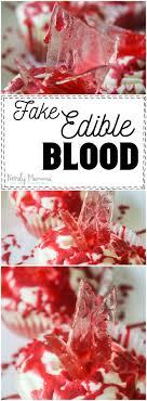 edible blood edible blood nerdy mamma