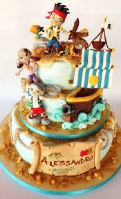 pasteles fiesta infantil jake los piratas http