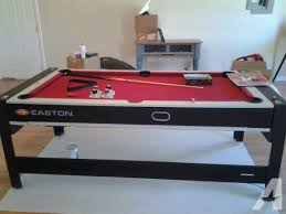 pool and air hockey table easton air hockey table classifieds buy sell easton air hockey