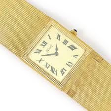 piaget bracelet vintage piaget bracelet in 18kt yellow gold 9131 c4 8 75