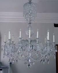 Cut Glass Chandeliers Philip Colleck Ltd Antiques Antique English Furniture