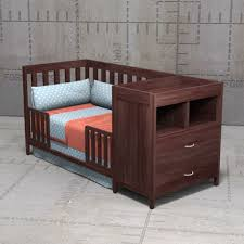 baby cribs with changing table combo austin crib 3d model