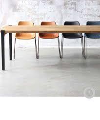 deco industrielle atelier table console usine deco table basse en métal riveté