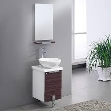 Modern Walnut Bathroom Vanity by Adour 16