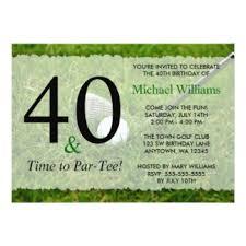40th birthday party invitations u0026 announcements zazzle