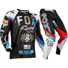 ebay motocross helmets fox racing 2017 mx new 360 rohr black gold jersey pants motocross