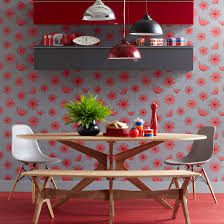 Decorating Room Envy Part - Poppy wallpaper home interior